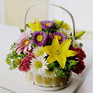 Basking Ridge Florist | Bright Basket