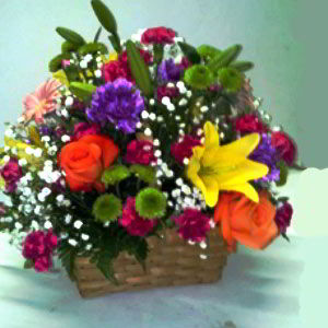 Basking Ridge Florist | Glowing Basket