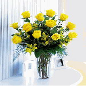Basking Ridge Florist | Dozen Yellow Roses