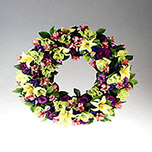Basking Ridge Florist | Spring Wreath