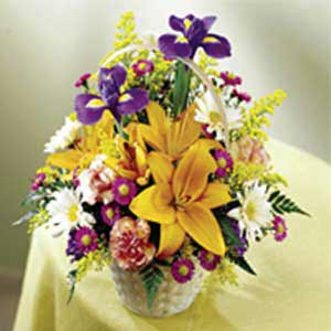 Basking Ridge Florist | Iris Basket