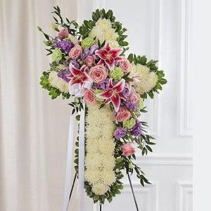 Basking Ridge Florist | Standing Cross