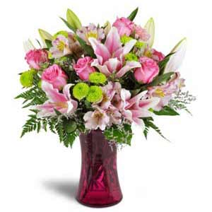 Basking Ridge Florist | Cheerful Vase